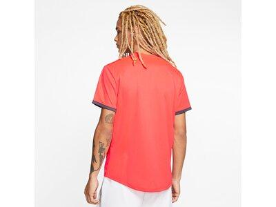 NIKE Herren Tennisshirt Kurzarm Braun