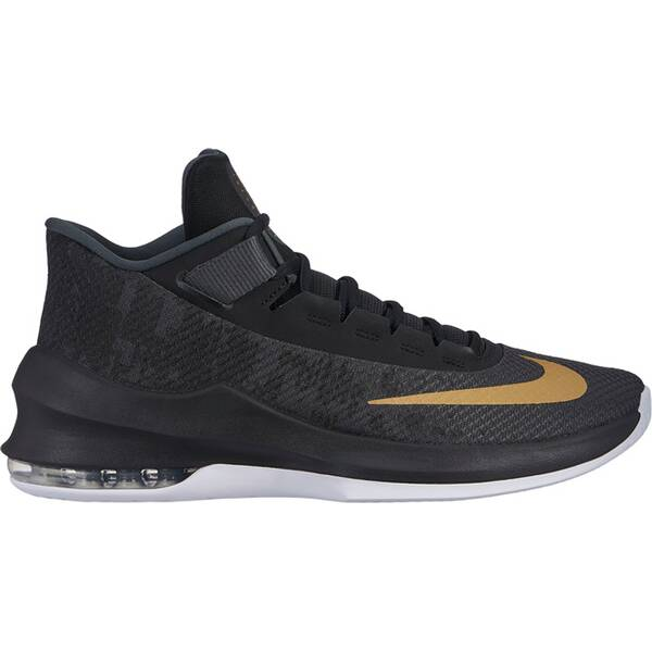 NIKE Herren Basketballschuhe Air Max Infuriate 2 Mid | Schuhe > Sportschuhe > Basketballschuhe | Gold | NIKE