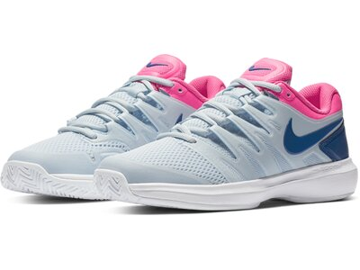 "NIKE Damen Tennisschuhe Outdoor ""Air Zoom Prestige"" Silber"