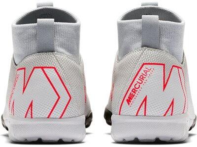 NIKE Fußball - Schuhe Kinder - Turf Mercurial SuperflyX VI Academy TF Kids Silber