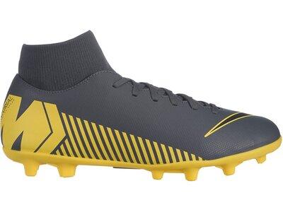 NIKE Fußball - Schuhe - Nocken Mercurial Superfly VI Club MG Grau
