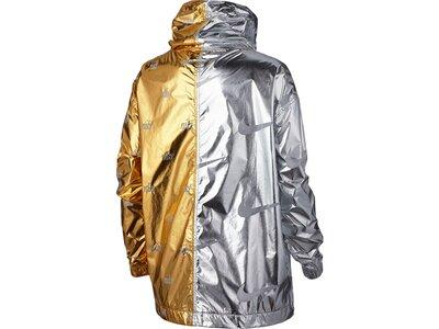 NIKE Damen Jacke METALLIC Gold