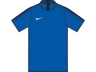 NIKE Herren Fußball Jersey M NK DRY STRKE JSY SS Blau