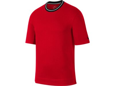 NIKE M NK DRY TOP SS HOOPXFLY Rot