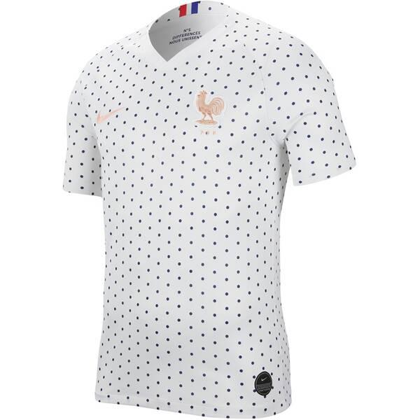 NIKE Damen Fantrikot FFF BREATHE AW | Sportbekleidung > Sportshirts > Fanshirts | White | Nike