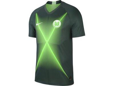 NIKE Herren Fantrikot VfL Wolfsburg 2019/20 Stadio Home Grau