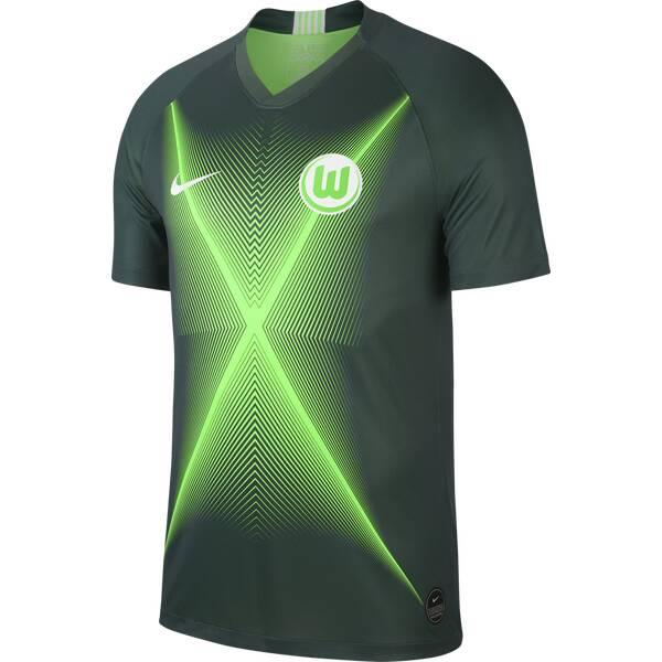 NIKE Herren Fantrikot VfL Wolfsburg 2019/20 Stadio Home | Sportbekleidung > Sportshirts > Fanshirts | Green - White | Jersey | Nike