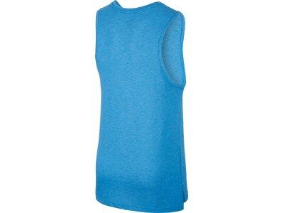 NIKE Herren Shirt Ärmellos Blau