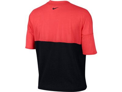 "NIKE Damen Laufshirt ""Tailwind"" Kurzarm Rot"