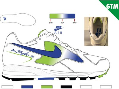 NIKE Lifestyle - Schuhe Herren - Sneakers Air Skylon II Sneaker Blau