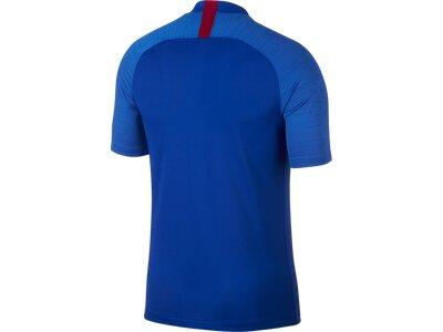 NIKE Herren Short-Sleeve Fußball Top FCB M NK BRT STRK TOP SS Blau