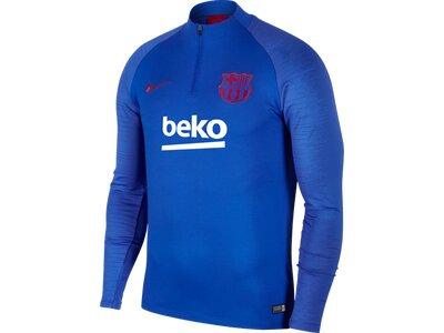 NIKE Herren Fansweatshirt Dri-FIT FC Barcelona Strike Blau