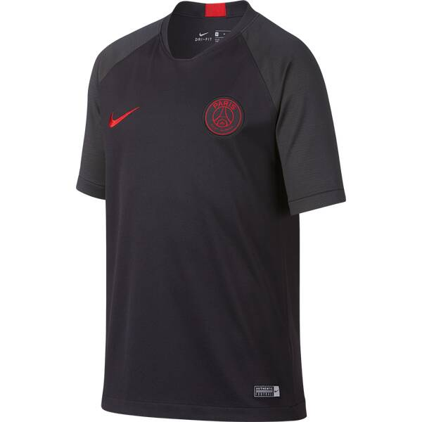 "NIKE Jungen Trainingsshirt ""Dri-Fit Breathe PSG Strike Kid"" Kurzarm"