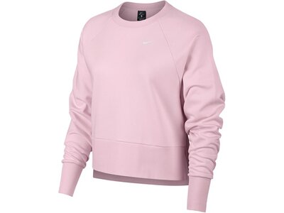 NIKE Damen Sweatshirt Silber