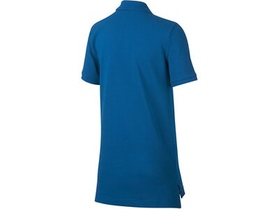 NIKE Jungen Tennis Poloshirt Blau