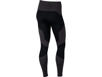 NIKE Damen Yoga Training Tights W NK PWR TGHT STUDIO SMLSS VNR Schwarz