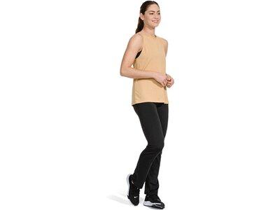 NIKE Damen Training Hose W NK PWR CLASSIC PANT Schwarz