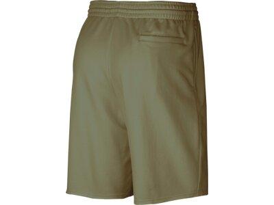 NIKE Herren Fleece Shorts M J JUMPMAN LOGO FLC SHORT Braun