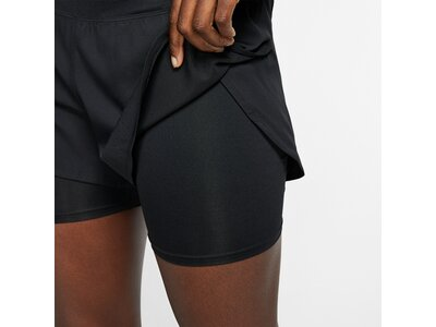 NIKE Running - Textil - Hosen kurz Eclipse 2in1 Short Damen Braun