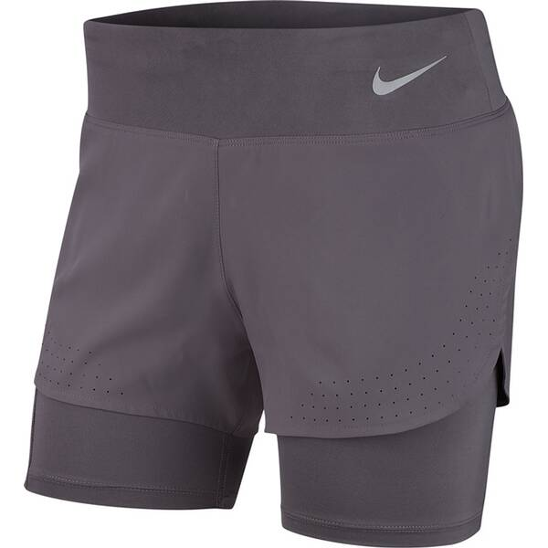 NIKE Damen 2-in-1 Running Shorts W NK ECLIPSE 2IN1 SHORT