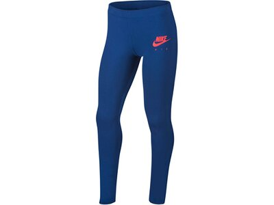 NIKE Mädchen Trainings-Tights Blau