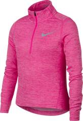 NIKE Kinder Sweatshirt G NK LS TOP RUN HZ