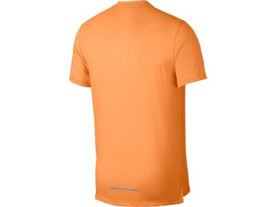 """NIKE Herren Laufshirt """"Rise 365"""" Kurzarm Orange"""