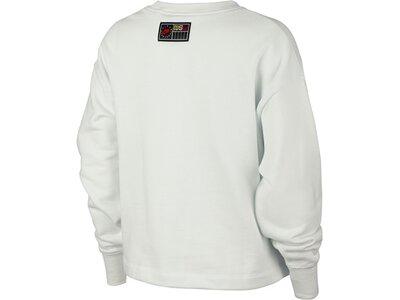 NIKE Damen Sweatshirt Grau
