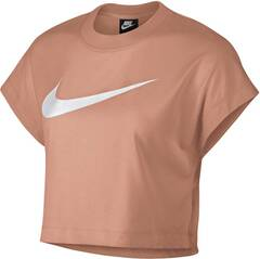 NIKE Damen NSW SWSH TOP CROP SS