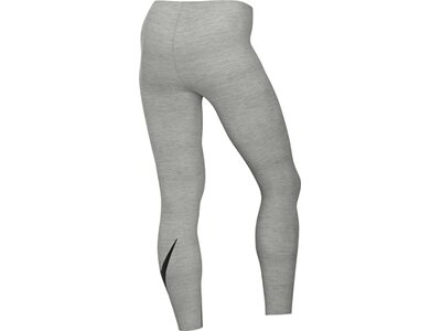 NIKE Damen Tight W NSW LEGASEE LGGNG 7/8 FUTURA Grau