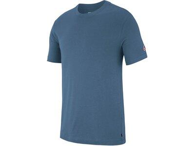 NIKE Herren Skate T-Shirt M NK SB TEE ESSENTIAL Blau