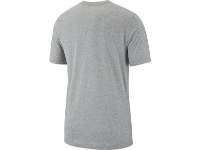 NIKE Fußball - Textilien - T-Shirts Crew Solid T-Shirt Grau