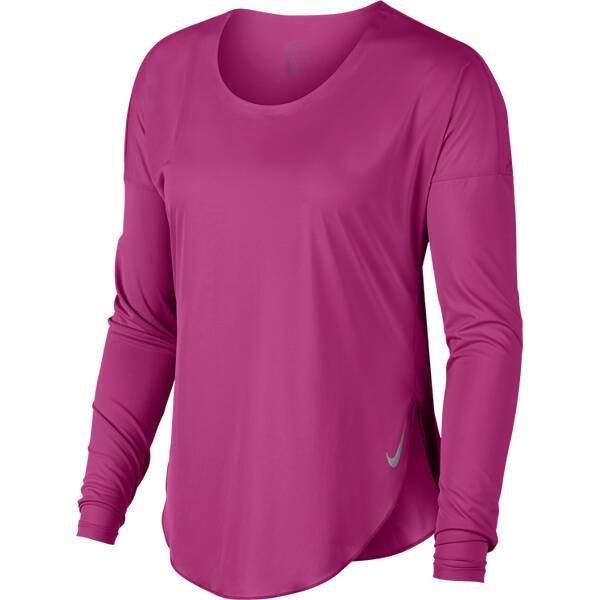 NIKE W NK CITY SLEEK TOP LS