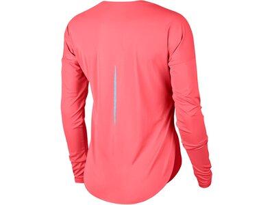 """NIKE Damen Laufshirt """"City Sleek"""" Langarm Rot"""