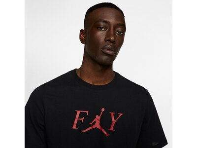 NIKE Herren T-Shirt Jordan Fly Schwarz