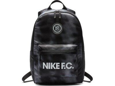 NIKE Rucksack NK F.C. Schwarz
