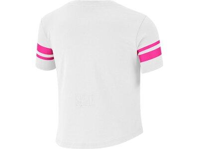 NIKE Kinder Shirt SPORTY CROP Weiß