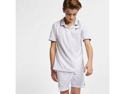 NIKE Kinder DRY POLO TEAM Weiß