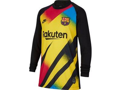 NIKE Kinder Fantrikot FC Barcelona 2019/20 Stadium Goalkeeper Gelb