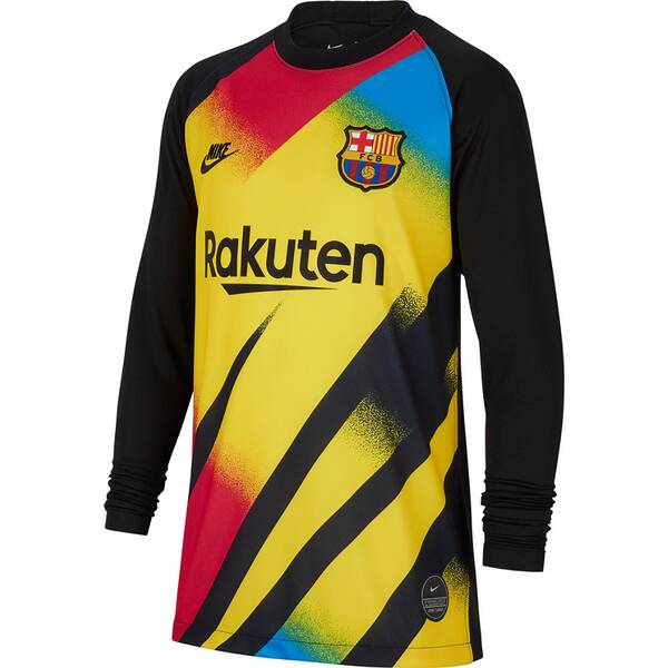 NIKE Kinder Fantrikot FC Barcelona 2019/20 Stadium Goalkeeper