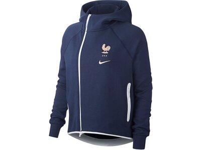 NIKE Replicas - Jacken - Nationalteams Frankreich Tech Fleece Cape Damen Blau
