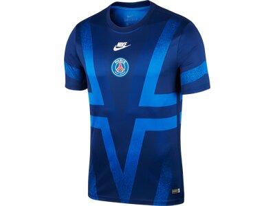 NIKE Herren Fanshirt Paris Saint-Germain Blau