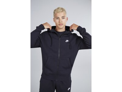 NIKE Herren Hoodie Sportswear Club Fleece Schwarz