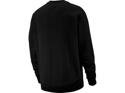 """NIKE Herren Sweatshirt """"Club"""" Schwarz"""