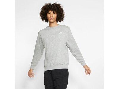 "NIKE Herren Sweatshirt ""Club"" Silber"