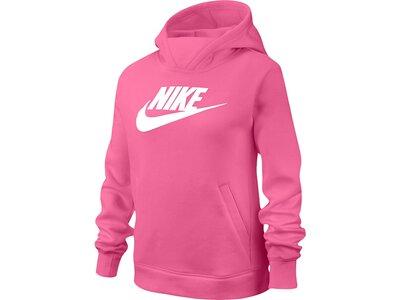 NIKE Mädchen Sweatshirt mit Kapuze Pink