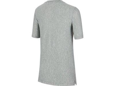 NIKE Kinder Shirt DRY SS Silber