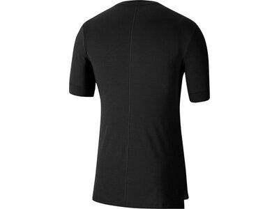 """NIKE Herren Yoga T-Shirt """"Nike Yoga Dri-Fit"""" Schwarz"""