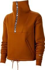 NIKE Damen Sweatshirt CROPPED MOCK NECK HZ