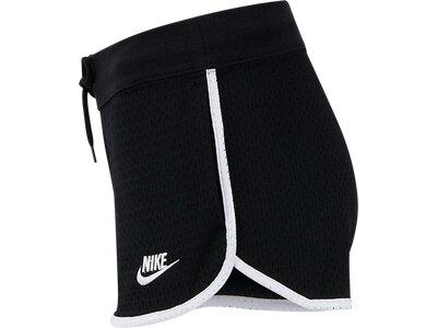 NIKE Damen Shorts NSW HRTG MESH Schwarz